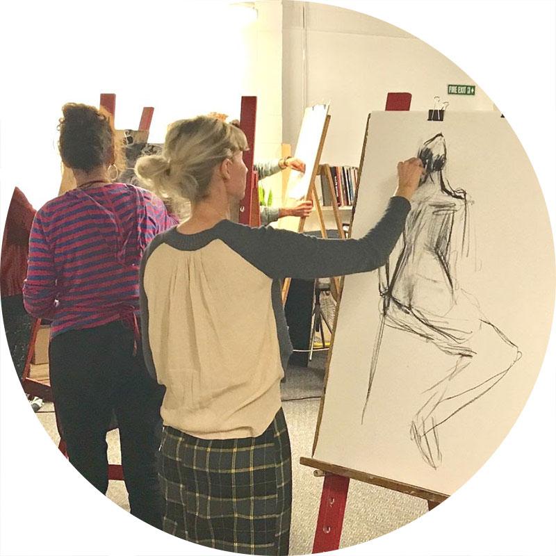 Term 3 Class 2018 - Acrylic Paint & Mixed Media